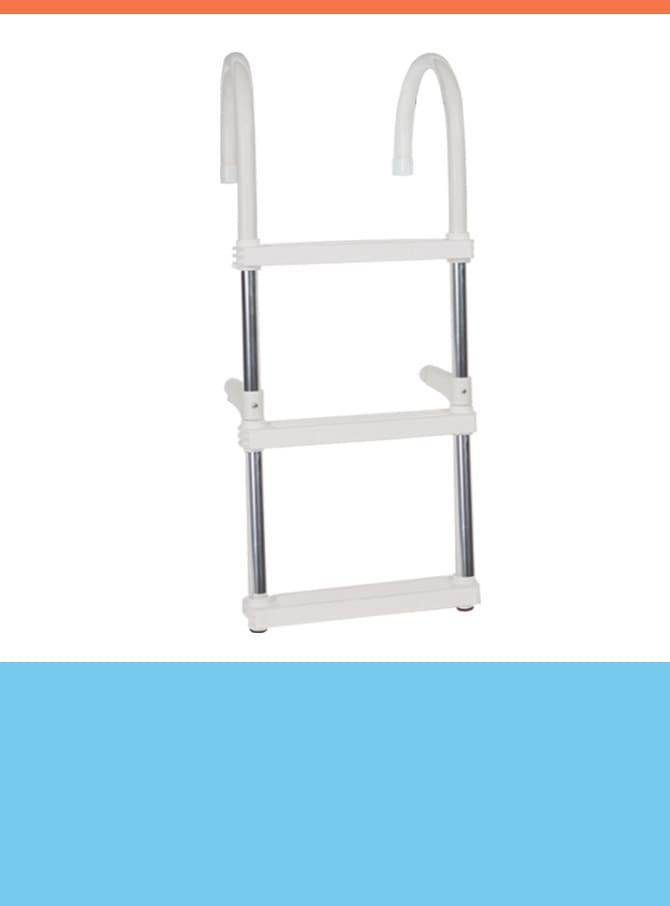 Boarding Aluminum Ladders