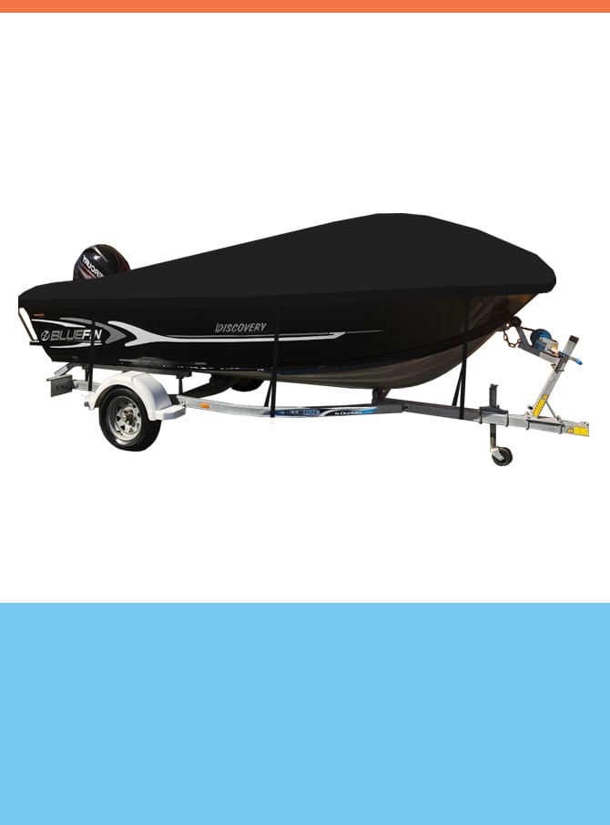 Oceansouth Custom Covers for Bluefin Boats