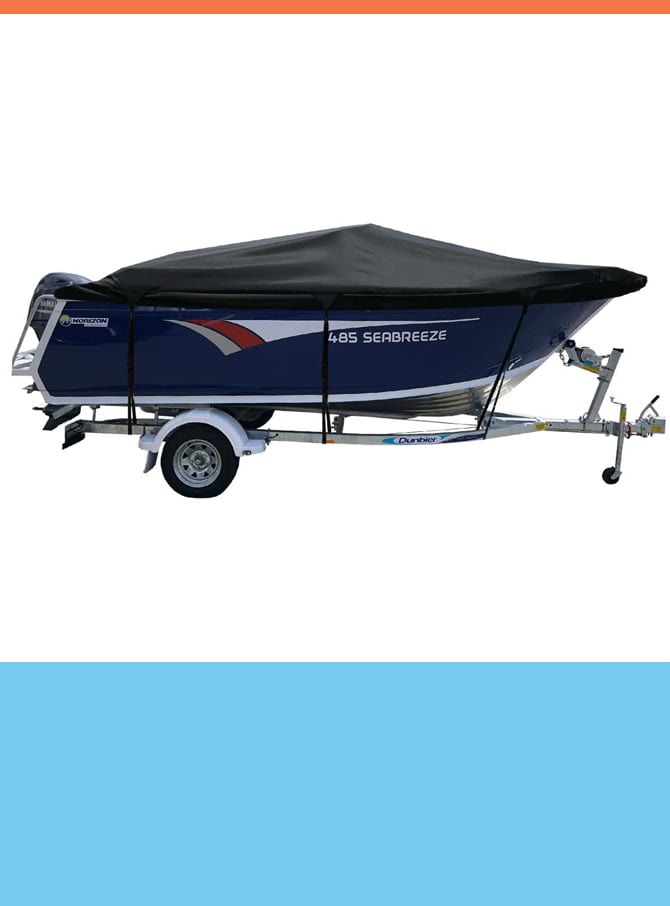 Oceansouth Custom Covers for Horizon Boats