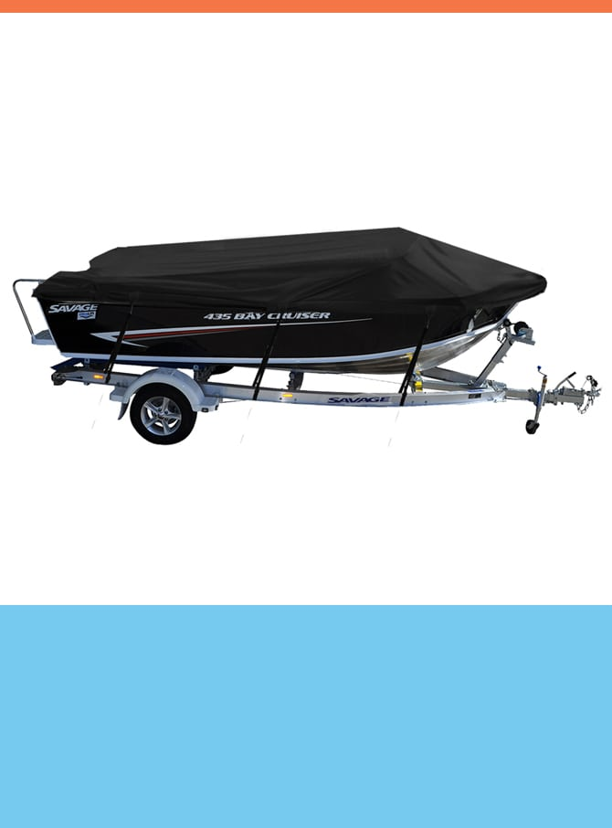 Oceansouth Custom Covers for Savage Boats