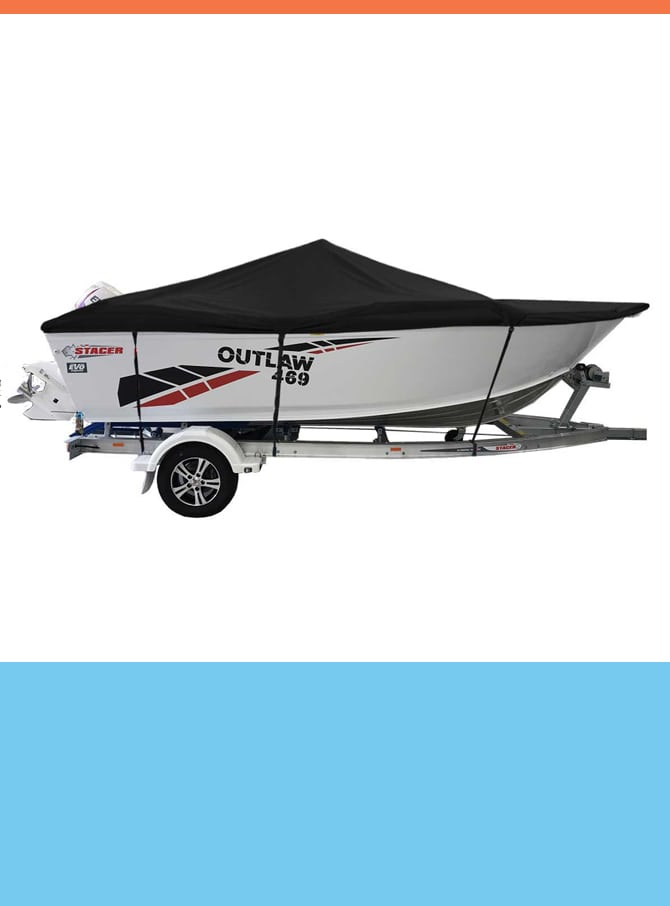 Oceansouth Custom Covers for Stacer Boats