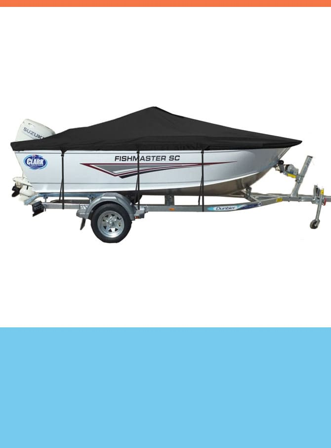 Oceansouth Custom Covers for Clark Boats